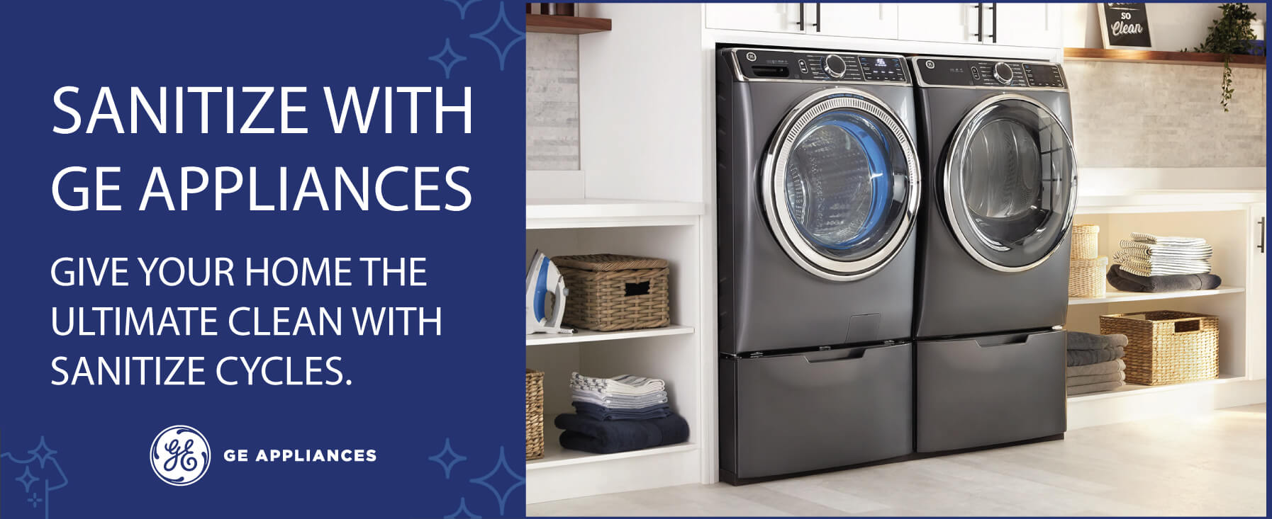 Sanitize with GE Appliances